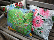 tea towel cushions