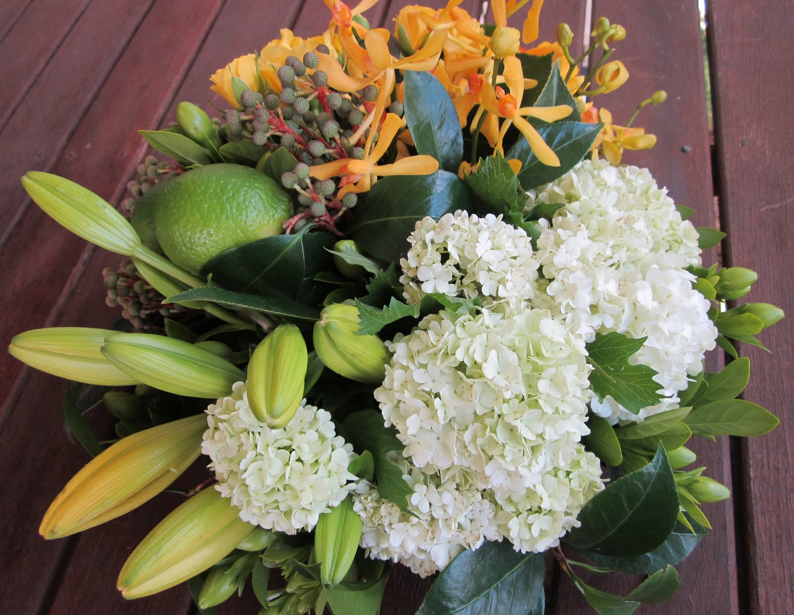 One craftee mumma my creative space fruit and flower Floral arrangements with fruit