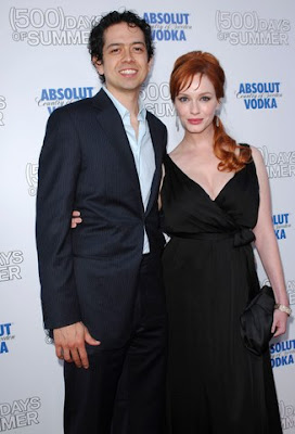 Mad Men Actress Christina Hendricks Marries Geoffrey Arend Pics