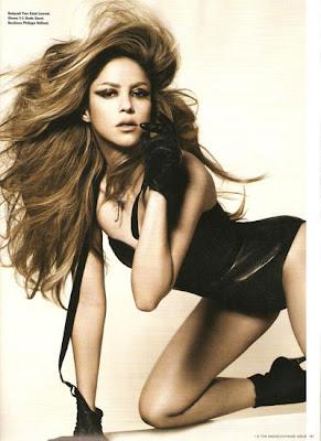 Shakira at the i-D Magazine Cover beautiful photo
