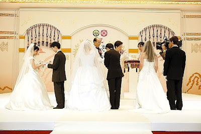 Sun Myung Moon Wedding pics
