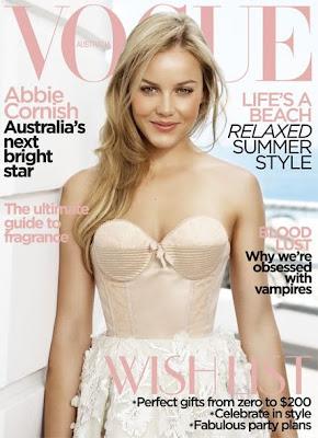 Abbie Cornish on Vogue Australia Covers December 2009 pics