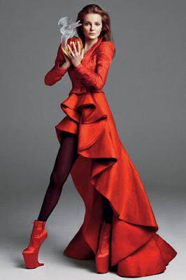 Abbie Cornish on Vogue Australia Covers December 2009 photo