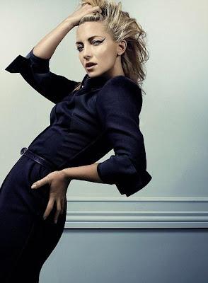 Kate Hudson on Elle UK Magazine Cover photo