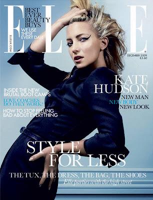 Kate Hudson on Elle UK Magazine Cover