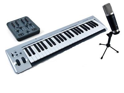M-Audio Recording Studio Equipment pics