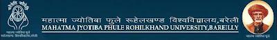 MJP Rohilkhand University Improvement Result 2010