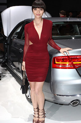 Christina Ricci At Audi Premiere