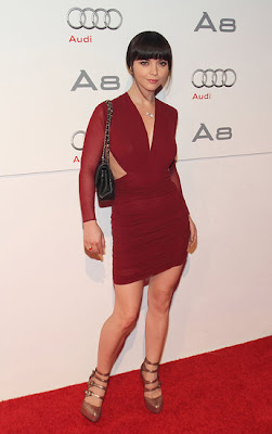 Christina Ricci At Audi Premiere pictures