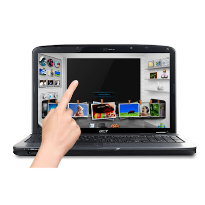 Acer Multi Touch Laptop features