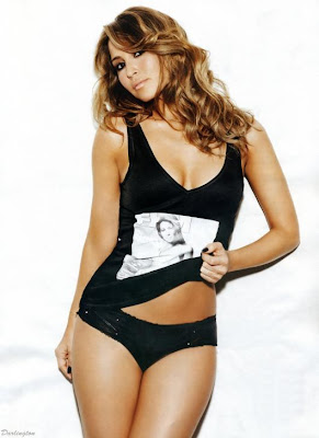 Rachel Stevens in the January 2010 issue of FHM pictures