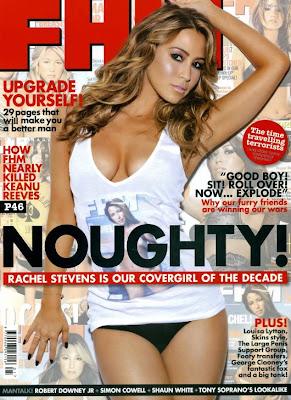 Rachel Stevens in the January 2010 issue of FHM