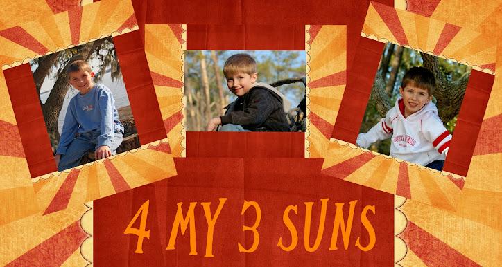 4 My 3 Suns