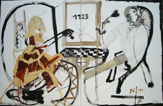Jonathan Meese: Chess 1923, The Balthus Saloon, 2001