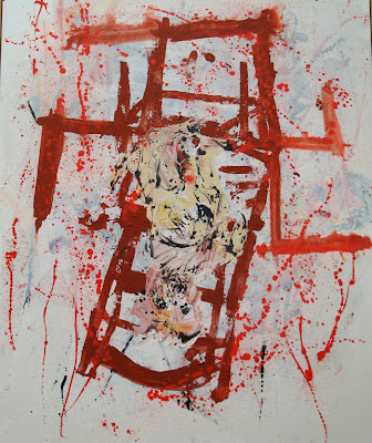 George Baselitz: Paul's Dog (remix), 2008