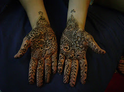 My Henna art on a Bride to Be