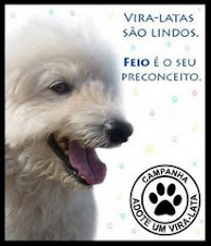 ADOTAR É TUDO DE BOM!ADOTE UM ANIMAL ABANDONADO!!!