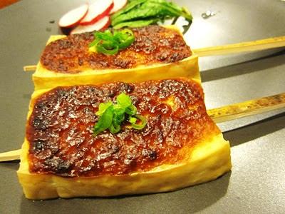 Yoko's Plate: Tofu Mso Dengaku 豆腐みそ田楽
