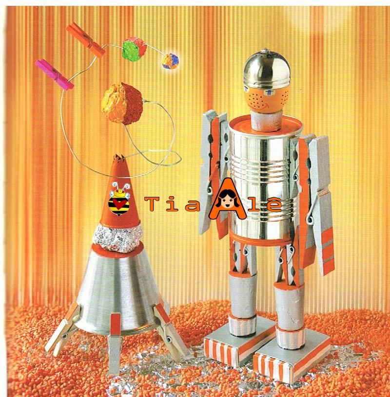 Роботы своими руками из подручных материалов для детей 85