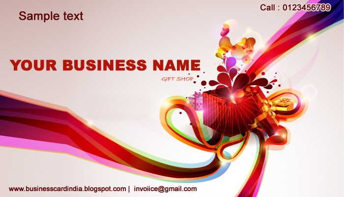 Business card india templates design free download uniq visiting 5790 business card design editable format free download india reheart Images