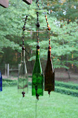 Wine Glass Wind Chimes