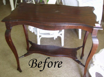 Antique Wood Furniture on My Romantic Home  Painting Furniture Step By Step