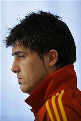 david villa hair style fashion 2011