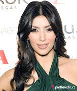Kim Kardashian updo hairstyles: