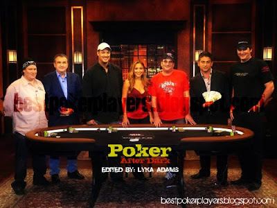 Poker After Dark Host and Contestants