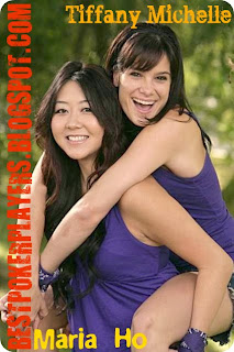 Maria Ho and Tiffany Michelle at Amazing Race