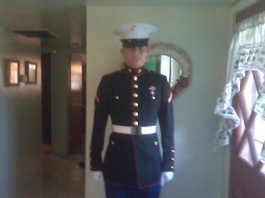 Austin as a Marine!