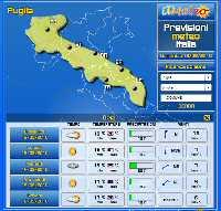Accedi alla pagine delle PREVISIONI INTERATTIVE per Tutte le Regioni per i prossimi 5 Giorni