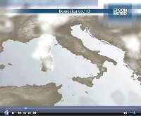 Animazione VIRTUALE della NUOLOSITA' prevista nelle prossime 24 ore in ITALIA