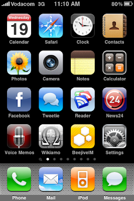 My iPhone homescreen