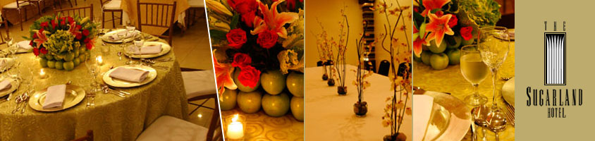 The Sugarland Hotel - Wedding Reception in Bacolod City