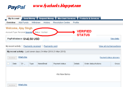 how to make a paypal without a credit card