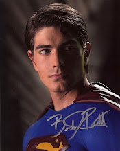 Foto autografiada de Brandon Routh