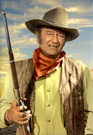 THE TAINTED ARCHIVE: Top Ten Western Actors No 1 - John Wayne