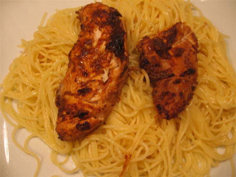 Blackened Chicken Pasta With Creamy Angel Hair Pasta Recipes ...