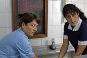 Mariana Loyola y Catalina Saavedra en La nana