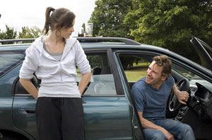Katie Jarvis y Michael Fassbender en Fish Tank