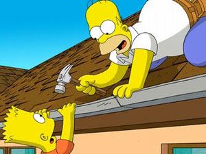 Fotograma de Los Simpson - La película