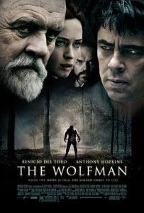 Cartel original de El hombre lobo