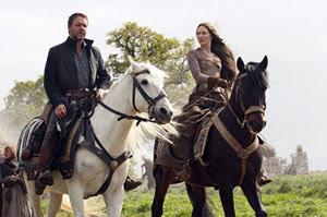 Russell Crowe y Cate Blanchett en Robin Hood