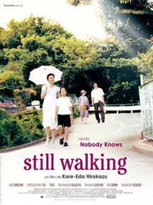 Cartel americano de Still Walking. Caminando