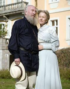 Christopher Plummer y Helen Mirren en La última estación