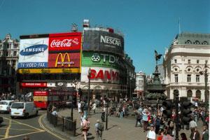 Fotografía de Picadilly Circus, Londres