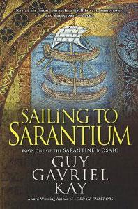 Portada americana de Los mosaicos de Sarantium, de Guy Gavriel Kay