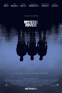 Cartel original de Mystic River