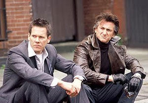 Kevin Bacon y Sean Penn en Mystic River
